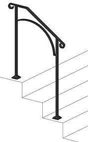 Replacing an outdoor iron stair railing. Outdoor Metal Stair Railing Kits You Ll Love In 2021 Visualhunt