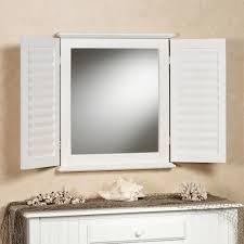 coastal shutter wall mirror whitewash touch to zoom
