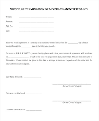 Free Termination Letter Gorgeous Landlord Notice To End Tenancy Letter Theironangelco