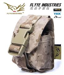 <b>FLYYE MOLLE</b> grenade attack Pouch Military camping hiking ...