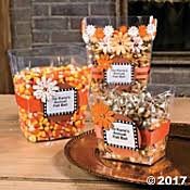 DIY Fall Candy Containers Idea