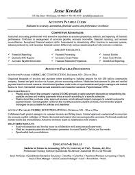 Accounts Payable Resume Is Used To Apply A Job As Account Payable