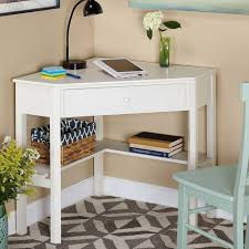 Small Corner Table With Shelves Best Used Small Corner Desk Ideas Lonielife Decoration Ideas TV
