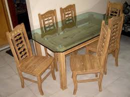 glass wood dining table with price. modern dining table six chairs glass top d57f furniture wood with price f
