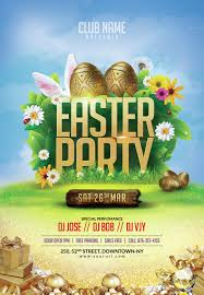 Easter Flyer Template Easter Flyer Template by doto GraphicRiver 1