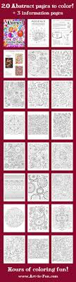 Small Picture Abstract Coloring Pages Art is Fun