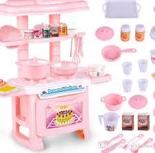 2017 hot s children s cooking utensils kitchen toys suit girl simulation simulated kitchen children intelligence development with 28 58 piece on