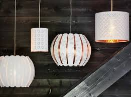 ikea lighting shades. these nymo and verud lamp shades were created by stockholm design studio wis ikea lighting