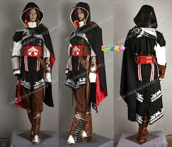 Assassin's Creed 2 II Ezio Whole set cosplay costume Halloween ...