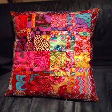 207 best Kaffe Fassett quilts images on Pinterest | Crafts, DIY ... & Great pillow from Kaffe Fasset fabrics Adamdwight.com