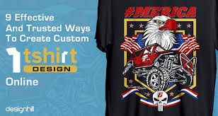 Creat A Shirt 9 Effective And Trusted Ways To Create Custom T Shirt Designs Online