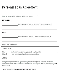 Free Simple Loan Agreement Template Picture Large Uk Word