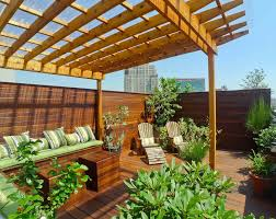 rooftop furniture. New York Rooftop Terrace Designed With Two Decks, Pergola, Cabana And Custom Furniture. Furniture