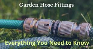 garden hose fittings everything you