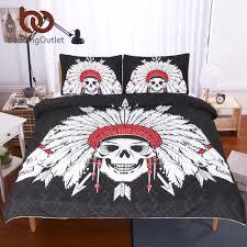 Skull Bedroom Popular Skull Bedding Sets Buy Cheap Skull Bedding Sets Lots From