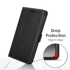 forefront cases google pixel 2 xl premium handmade pu leather case cover black