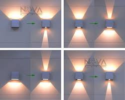 cree outdoor wall light led up down wall sconces adjule wall lamp garden light outdoor lighting per lot garden zine
