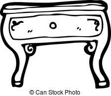 coffee table clipart black and white. cartoon coffee table clipart black and white 3