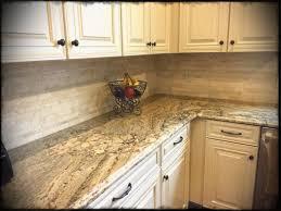 full size kitchen cabinet white backsplash subway tile