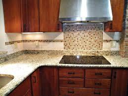 Kitchen Tiles For Backsplash Kitchen Elegant Kitchen Decor Ideas With Luxury Glass Tile