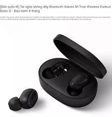 Bản quốc tế] Tai nghe không dây Bluetooth Xiaomi Mi True Wireless Earbud  Basic S - Bảo hành 6 tháng