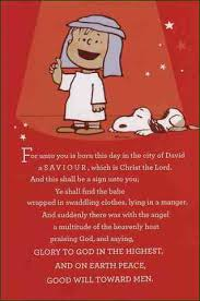 Charlie Brown Christmas Quotes Classy CHRISTMAS THE MYSTERY SOLVED Proverbwise