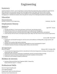 Resume Outlines Examples Sample Resumes Example Resumes With Proper Formatting Resume Com