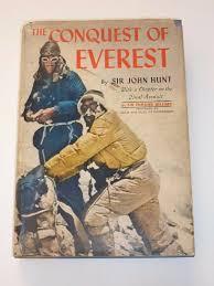 viaLibri ~ The Conquest Of Everest - Sir John Hunt, 5 Signed Hillary Hunt  Lowe Morris Evans