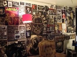 Punk Bedroom Wall Decals