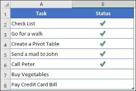 excel checkbook