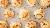 3 ingredient chewy macaroons