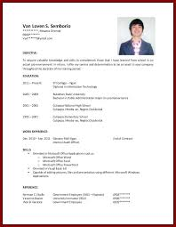 Resume Examples For College Students Professional Resume Samples