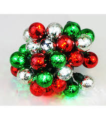 maker u0027s holiday 25 ct large red green mercury string lights