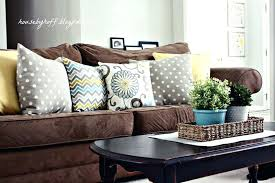 throw pillows for sofa mixing throw pillows house by striped throw pillows sofa
