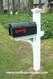mailbox posts metal. Residential Mailboxes For Sale And Posts At Walmart Decorative Metal Deluxe Mailbox Post Primed White Classic