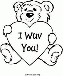 Small Picture Cute Teddy Bear Coloring Pages Coloring Home
