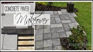 paver patio makeover