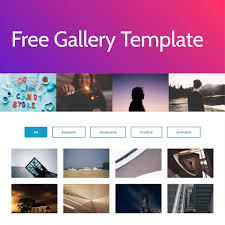 Gallery Design Html Html5 Photo Gallery Template Secondtofirst Com