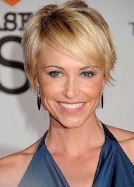 short hair style for women over 40