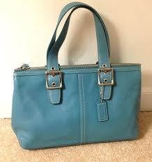 Pre Loved Coach Legacy Leather Satchel 9545