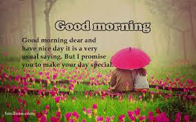 sweet good morning for fiance