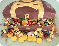 Treasure Chest Decorations Treasure Chest Cake For Girls Birthday Party Home Decor And