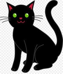 black cat clipart png. Unique Cat Kitten Bombay Cat Black Clip Art  Black And Cat Clipart Png I