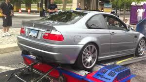 Sport Series 2006 bmw m3 : 2006 BMW e46 M3 Dyno headers, resonated x-pipe, DINAN exhaust ...