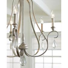 french provincial lighting. DEWITT Traditional 9 Light French Provincial Chandelier With Crystal Teardrops Lighting