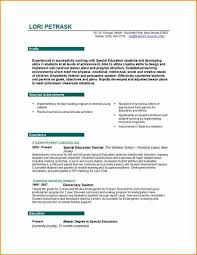 Teaching Jobs Resume Sample 15 For Teachers Job