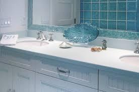 Aqua Glass Tile Bathrooms On A Budget Wonderful At Aqua Glass Tile - Glass tile bathrooms