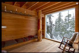 Small Picture Architecture Vancouver Island Ski Cabin Interior One Room Design
