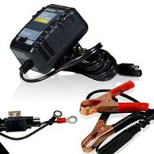 volt auto battery charger automatic battery float charger 12 volt trickle car boat motorcycle auto charger