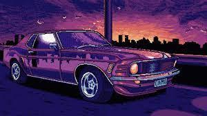 8 Bit Mustang 4k mustang wallpapers, hd ...